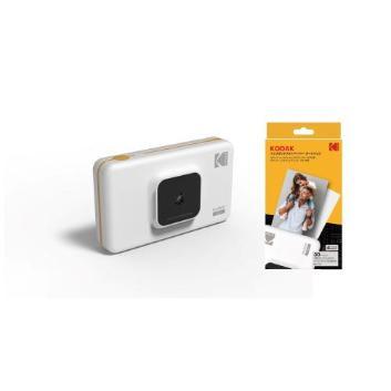<Kodak>カメラ付きインスタントフォトプリンター(写真用紙30枚セット)