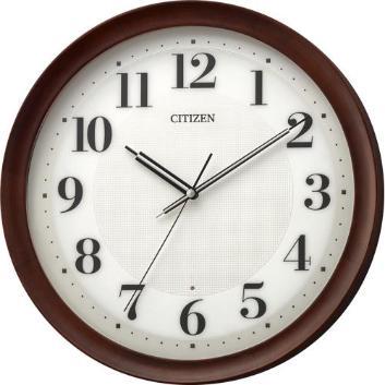 <リズム時計>インテリアに合わせやすい電波掛時計・丸型