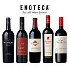 【送料無料】赤ワインの王!カベルネ・ソーヴィニヨン飲み比べ5本セット(エノテカ)