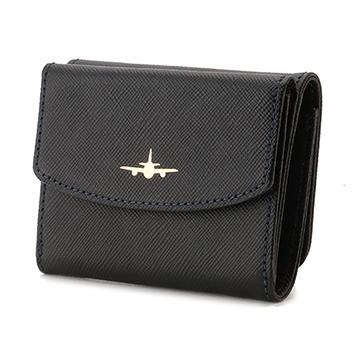 【タカシマヤセレクト】<ソメスサドル>ANAセレクションオリジナル 3つ折りコンパクト財布