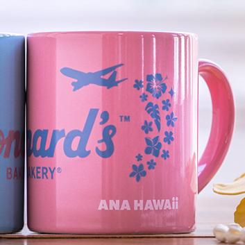 <ANAオリジナル>Leonard's for ANA マグカップ ピンク