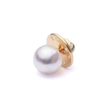 <HASUNA>luxe タックピン あこや真珠 ホワイト
