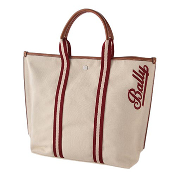 <BALLY>CANVAS TOTE MD.TSP トートバッグ