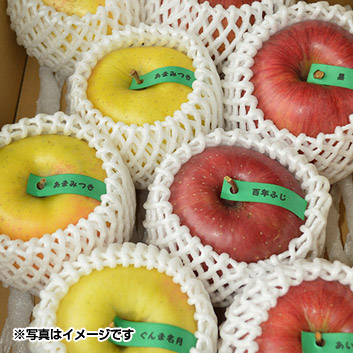[数量限定]青森産りんご食べ比べセット3kg
