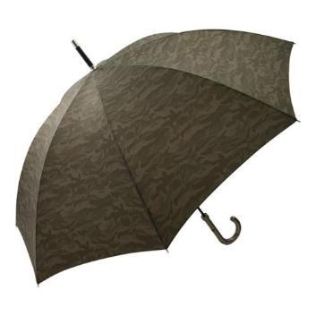 <オーロラ>カモフラージュ柄長傘