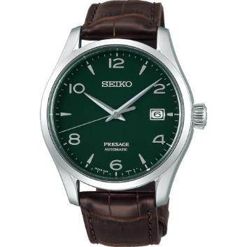 <セイコー>プレザージュ プレステージライン Green enamel dial Limited Edition SARX063