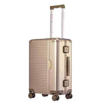 <LANGER>Urbanite アルミスーツケース 機内持込 4輪ダブルホイール
