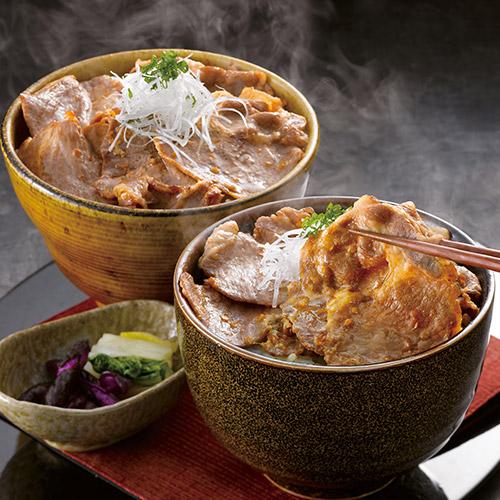 九州産黒豚生姜焼き丼の具