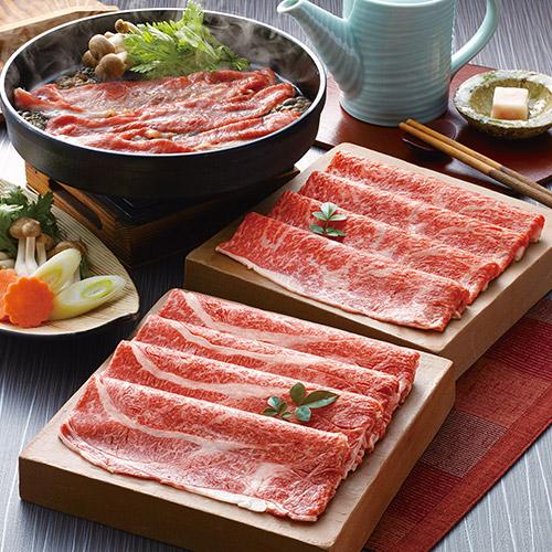 松阪牛 すきやき肉500g(肩ロース・モモ)