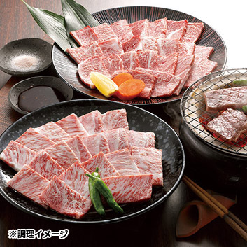 宮崎牛 5等級 焼肉900g(ロース、肩ロース)