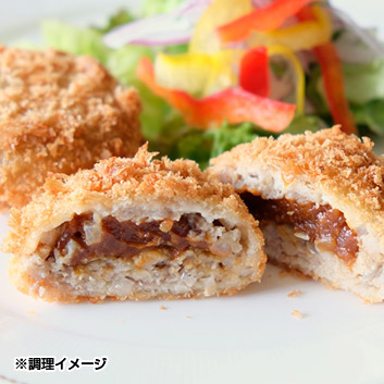 【米沢牛黄木】米沢牛入めんちかつ デミグラス風
