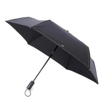 <タケオキクチ>高密ナイロン自動開閉折りたたみ傘