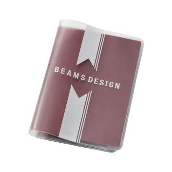 <BEAMS DESIGN>クリアパスポートカバー
