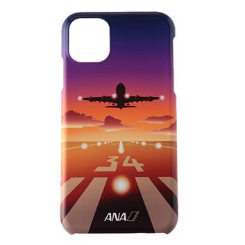 <ANAオリジナル>iPhoneケース A380夕焼け