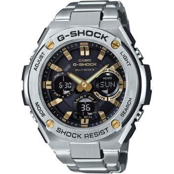 <カシオ>G-SHOCK G-STEEL 世界6局対応電波ソーラー GST-W110D-1A9JF