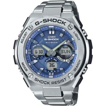 <カシオ>G-SHOCK G-STEEL 世界6局対応電波ソーラー GST-W110D-2AJF