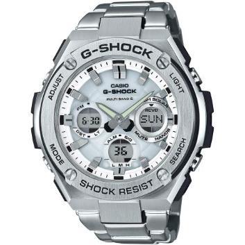 <カシオ>G-SHOCK G-STEEL 世界6局対応電波ソーラー GST-W110D-7AJF