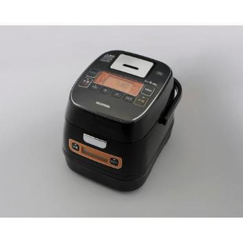 <アイリスオーヤマ>銘柄量り炊き 分離式IHジャー炊飯器3合 RC-IA31-B