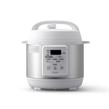 <アイリスオーヤマ>電気圧力鍋3L PC-EMA3-W