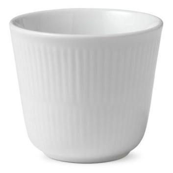 <ロイヤルコペンハーゲン>【ホワイトフルーテッド】スタイルカップ
