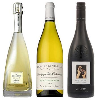 【送料無料】A-styleソムリエが選んだ、機内ワインが入った鍋と合わせる贅沢ワイン赤白泡3本セット