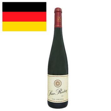 <ファン・フォルクセン>ザール・リースリング【2015】(白ワイン)