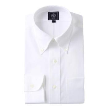 <Jプレス>PLEMIUMPLEATS ピンオックスドレスシャツ