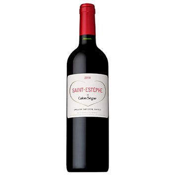 <シャトー・カロン・セギュール>サン・テステフ・ド・カロン・セギュール【2014】(赤ワイン)