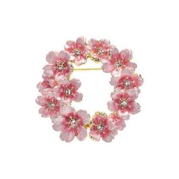<ヴァンドーム ブティック>桜リースブローチ