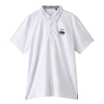 <キャロウェイアパレル>【吸汗速乾】ゴルフポロシャツ