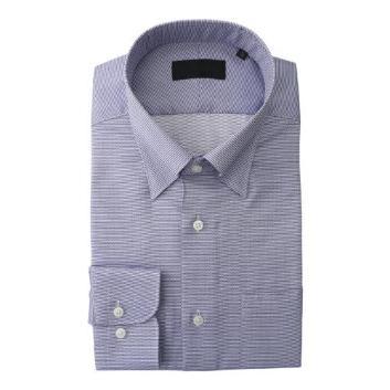 <ダーバン>【イージーケア】ウェーブ折柄 ドレスシャツ