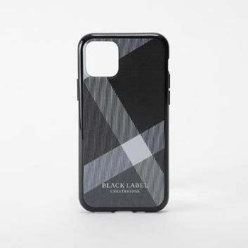 <ブラックレーベル・クレストブリッジ>クレストブリッジチェックi-Phone 11pro ケース