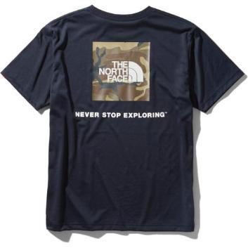 <ザ・ノース・フェイス>ロゴカモTシャツ