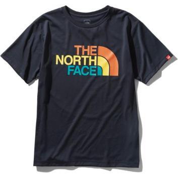 <ザ・ノース・フェイス>カラフルロゴTシャツ