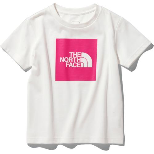 <ザ・ノース・フェイス>【キッズ】カラービッグロゴTシャツ