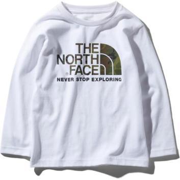 <ザ・ノース・フェイス>【キッズ】カモロゴTシャツ