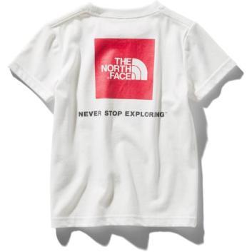 <ザ・ノース・フェイス>【キッズ】スクエアロゴTシャツ