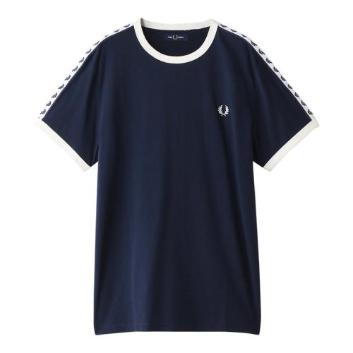<フレッドペリー>TAPED RINGER T-SHIRT