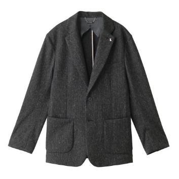 <ブラックアンドホワイト>テーラードジャケット