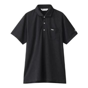 <ブラックアンドホワイト>プリント半袖シャツ