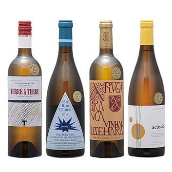 【送料無料】2019年度機内ワイン ファーストクラス白ワイン4本セット