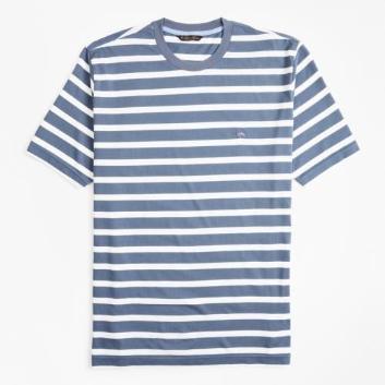 <ブルックス ブラザーズ>GF スーピマコットンジャージー グランドストライプ Tシャツ