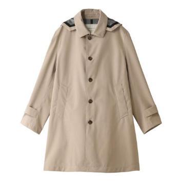 <Jプレス>【J.PRESS PLUS】【防風】【耐水】ウールライクポリステンカラー コート