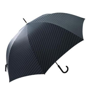 <フロータス>超撥水ストライプpt耐風UV長傘