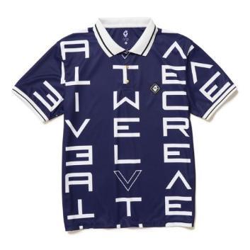 <ヴィ・トゥエルヴ>ギャラクシー ポロシャツ