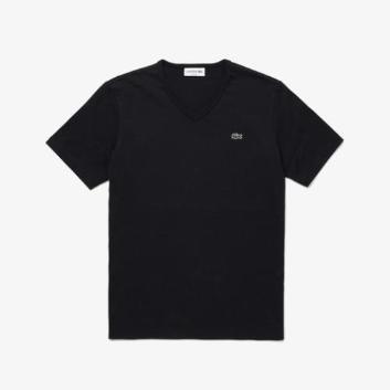 <ラコステ>ベーシックVネックTシャツ (半袖)