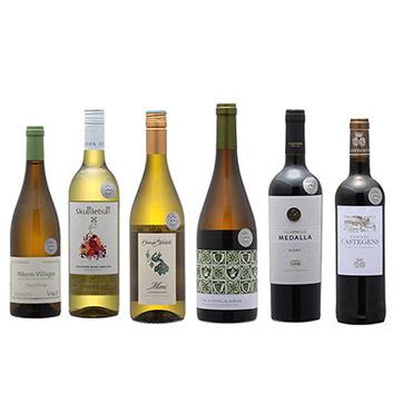 2019年度機内ワイン ビジネスクラス赤白6本セット