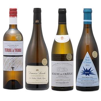 2019年度機内ワイン ファーストクラス白4本セット