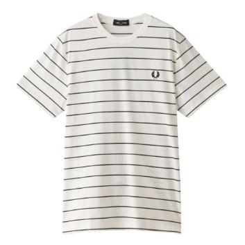 <フレッドペリー>FINE STRIPE T-SHIRT