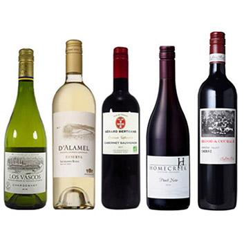【送料無料】A-styleソムリエが選んだ、スクリューキャップの高品質ワイン5本セット